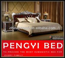 De estilo moderno cama king size py-998