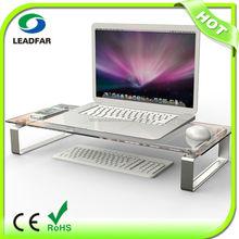 Portable practical detachable desktop computer shelf