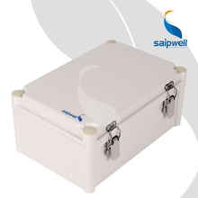 Saip/Saipwell Brand Junction Box with Hinge Hot Sale Project Enclosure Waterproof IP66 ABS Junction Box