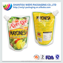 fda approved plastic spout juice pouch manufacturers from alibaba china