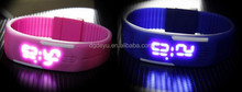 2015 fashion LED Silicon Jelly watches