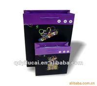 Packaging paper bag for apparel
