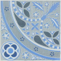 Beautiful Flower Design for Dubai Market Ceramic Floor Tile