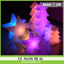 Reusable LED Christmas Decorative Light Star Pattern with Battery