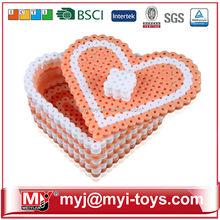 Direct selling plastic toys diy magic bead 3d paper jigsaw puzzle ET06A2