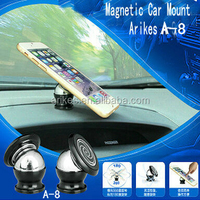 A-8 360 degree rotation adjustable universal gps holder car air vent mount holder cell phone holder
