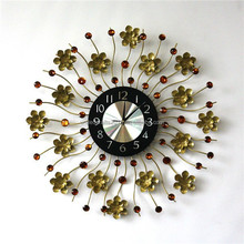 2015 hot selling custom decorative modern skeleton wall clock