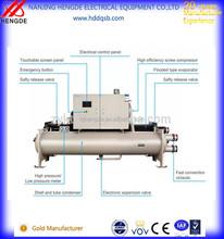 Refrigerado por agua tornillo de agua Chiller / congelador para moldeo por inyección de maquinaria