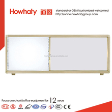 Custom made magnetic white board about size and color