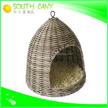 China factory directly sell luxury rattan indoor cat house