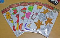 Wholesale,updatel,Attractive Christmas decoration eva hanging ,glitter eva sticker,foiled eva sticker, foil hanging decoration
