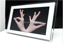 digital picture frame photo/background music 18 inch video album