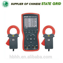 China HZRC4200A Double Clamp Digital Phase Volt Ampere Meter
