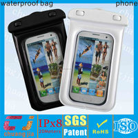 Outdoor Sports pvc bag waterproof for phone with string