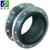 single ball synthetic rubber expansion joints