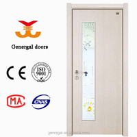 NEW style wooden office doors glass inserts