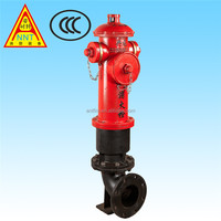 Outdoor Wet Barrel Fire Hydrant for Sale SS150/80-1.6