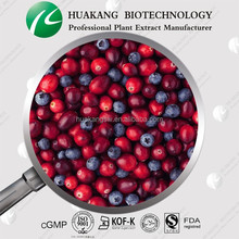 P.E. Bilberry Juice Powder Dried Cranberry Extract