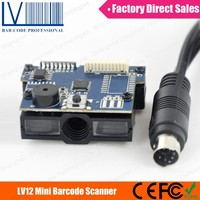 Auto Induction LV12 1D Barcode Scanner Module, Can Be Applied to Lottery Terminals, Vending Machines and Kiosk