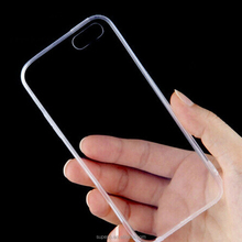Buy 300pcs get 50pcs for free 2015 hot sale Slim Crystal Clear Transparent Soft Silicone TPU Case for iPhone 6