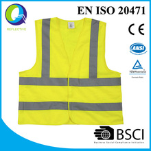 BIG PROMOTION BSCI manufacturer of safety vest with EN ISO 20471 certificate exported 8,000,000 pieces