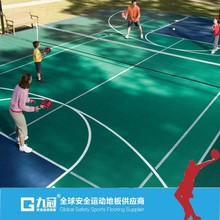 outdoor interlocking basketball court flooring