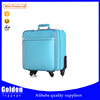Baoding LZD PU material luggage bag travel flight trolley suitcase bag