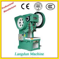 pneumatic punch press JH21 Series C Type aluminium foil container Machinery