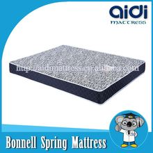 New Design Cotton Fabric Bonnell Spring Adult Size Mattress For Bachelor AI-1103