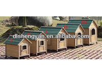 Customized Wooden House Design for Dog