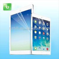 Wholesale tablet screen protector HD clear pet film screen guard for iPad mini 2