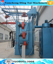 DingTai series hook shot blasting machine for rust cleaning/Hanger Hook Type Shot Blasting Machine For Continuous Casting Steel