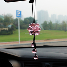 Crystal ball pendant 2015 New design car hanging pendant accessory lowest price in stock