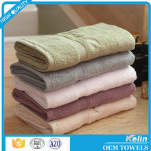 Promotional embroidery logo cotton hand towel