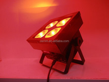 High color mixing 4pcs 25w RGB 3in1 COB led stage light