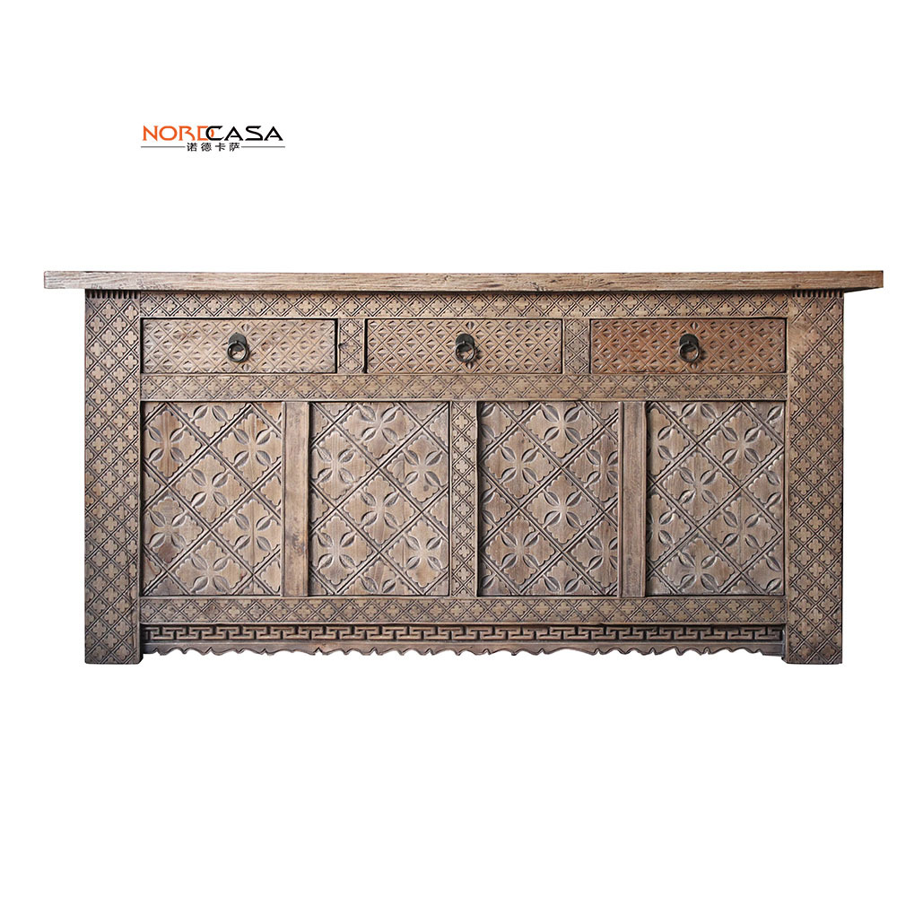 Chinese wholesale furniture antique reproduction sideboard for Reproduction oriental furniture
