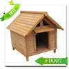 Comfortable solid wooden dog house & FD007 dog kennel
