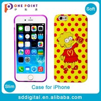 Popular cartoon characters soft tpu mobile telephones case phone case