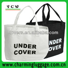 Simple design canvas shopping bag pattern