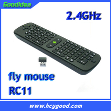 Measy RC11 Russian Air Mouse 3-IN-1 Combo 2.4GHz Wireless Fly Mouse Mini Keyboard for TV Box Mini PC Laptop Tablet