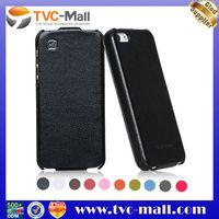 100% HOCO Case,HOCO Duke Vertical Genuine Leather Flip Case For iPhone 5