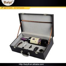 Quality Assured Excellent Wine Accessories Mini Travel Bar Set With Box