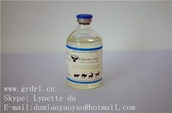 GRDR vitamin B12 injection for animal use only