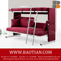 2 in 1 double-deck sofabed,space saving sofa bed