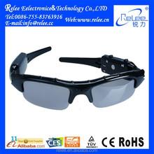 Portable Full HD 720P CCTV Sunglasses Shape Mini Camera for Outdoor Sports