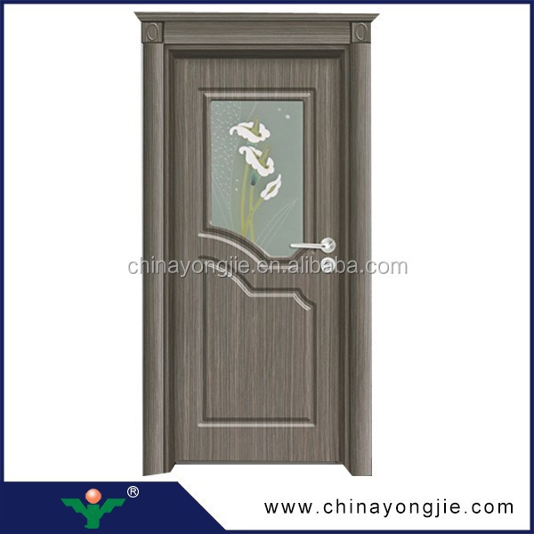 Yongkang zhejiang 2015 new design pvc door pvc bathroom for Door design latest 2015