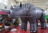 2015 Hot sale giant inflatable rhino for advertising