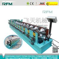 Aluminum Galvanized Steel Ridge Cap Panel Roll Forming Machine