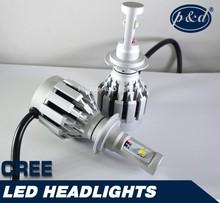 High power h7 auto headlight cre e car led headlight kit