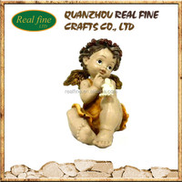 wholesale New product figurines angels from polyresin for sale